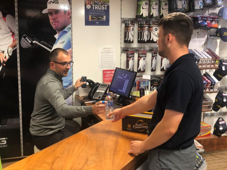 PGA Pro Joshua Harvey is retail manager at Edgbaston Golf club