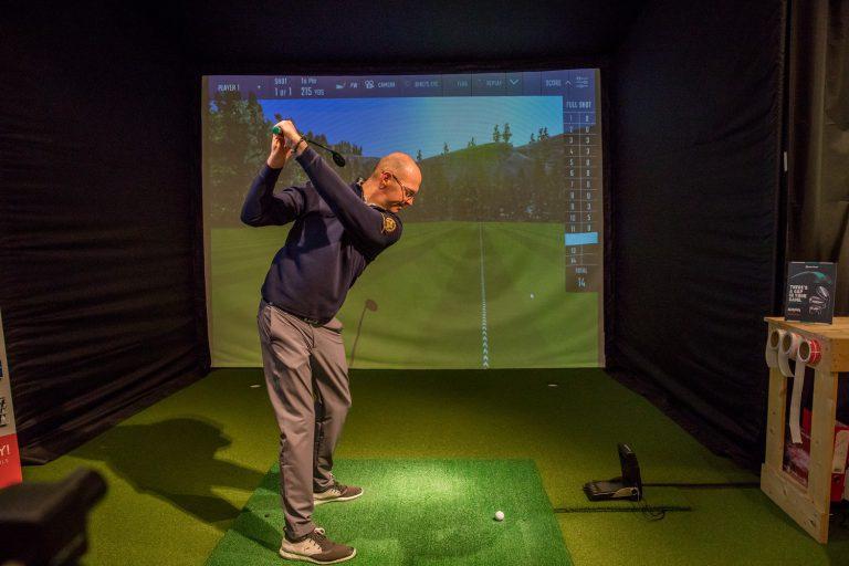 Indoor Swing Studio Donnington Valley Golf club