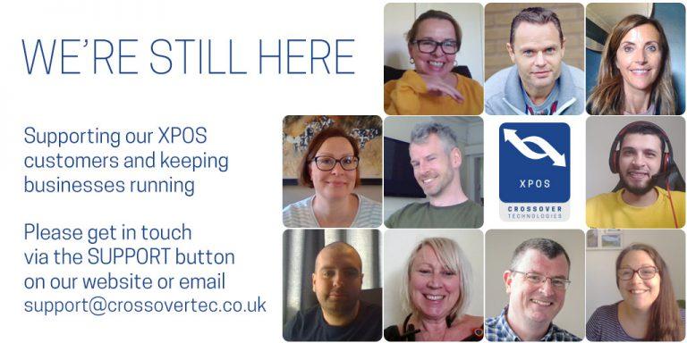 XPOS we're still here to help customers during coronavirus