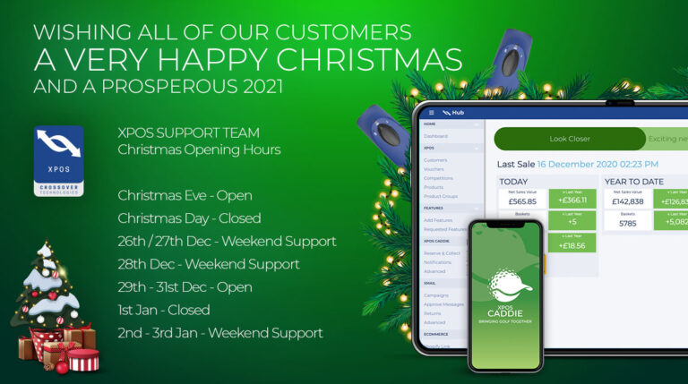 XPOS support team festive opening hours 2020
