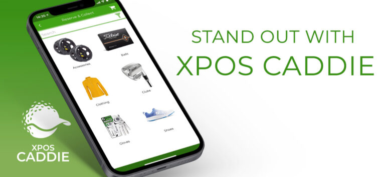 stand out with xpos caddie the app for golfers