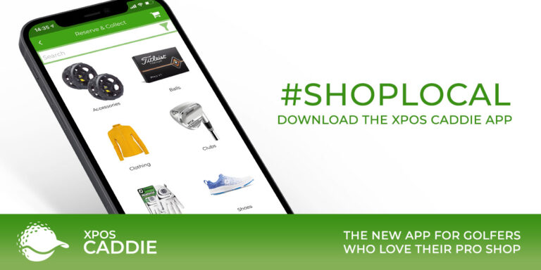 shop local with XPOS Caddie app