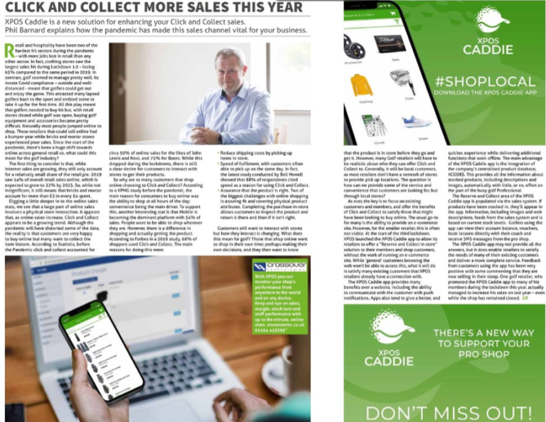 click and collect to drive sales phil barnard