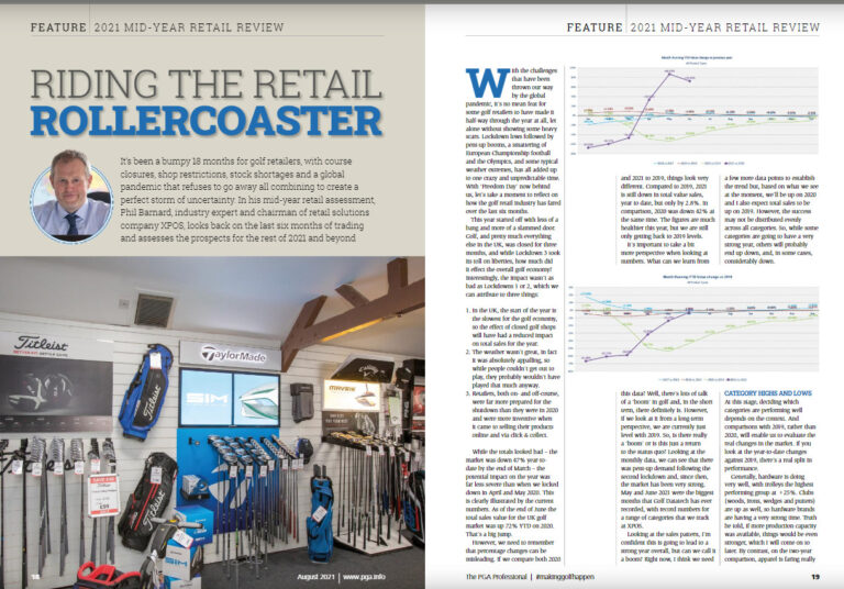 august's pga professional bursting with XPOS features